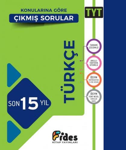 Fides TYT Türkçe Son 15 Yıl Konularına Göre Çıkmış Sorular